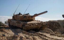 German Leopard Tanks Rolling Into Syria