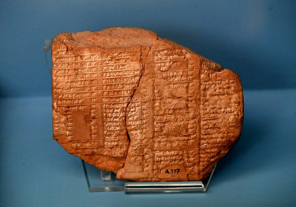 1024px assyrian king list. terracotta tablet%2c from assur%2c iraq. 7th century bce. ancient orient museum%2c istanbul.jpg