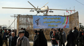 Iran Conducts 'Toward Jerusalem' Drone Exercise