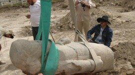 Colossal Ammonite Statue Discovered in Amman