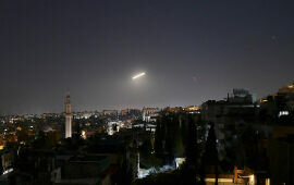 Syria Battered by Waves of Israeli Air Strikes