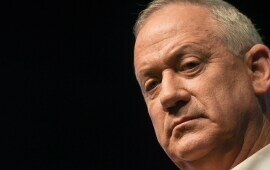 Blue and White Sides With Anti-Zionist Arabs to Oust Netanyahu