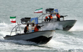 Iranian Vessels Harass U.S. Warships in the Persian Gulf