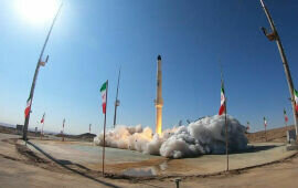 Iran Flexes Its 'Space Muscles' With New Rocket Launch